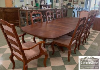 5966-747 - Century Cher FC Table 2Lv 8 Chairs