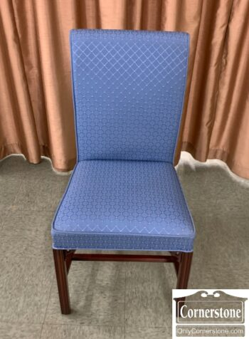 5966-776 - Blue Uph Chipp Side Chair