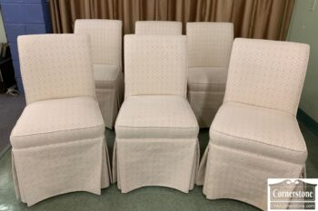 5966-802 - 6 Cox Mft Uph Side Chairs