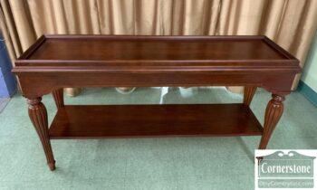 5966-806 - Cherry Sofa Table w Shelf