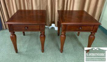 5966-807 - Pr Stanley Cher 1 Drw End Tables