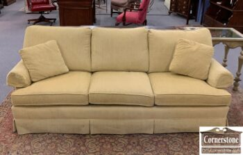 5966-814 - Thomasville Pale Gold Uph Sofa
