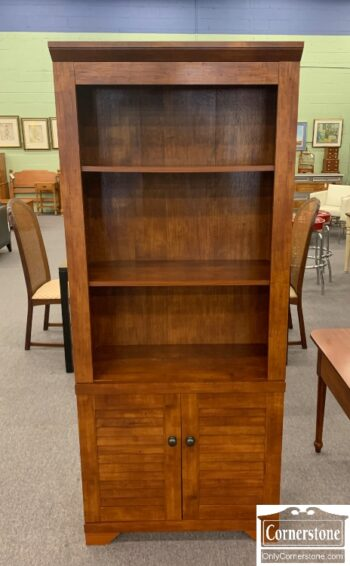 5966-831 - Cherry Bookcase Doors on Bottom