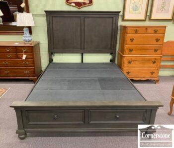 5966-835 - Aspen Home Dark Gr Queen Bed
