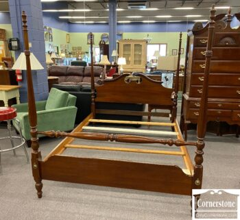 5966-872 - Thomasville Cher Queen Poster Bed