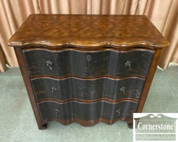 5966-895 - Hooker 3 Drawer Painted Chest