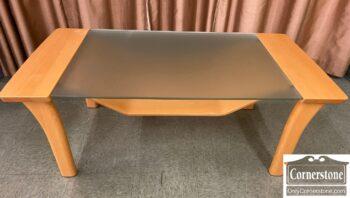 5966-932 - Maple Retro Coffee Table Mag Shelf