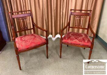 5966-953 - Fairfield Cher Fin Arm Chairs