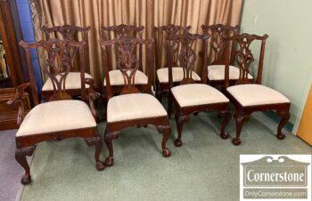 5966-958 - 8 Henredon Mah Dining Chairs
