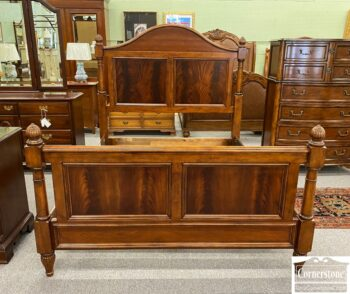5966-966 - Drexel Mised Wood Queen Bed