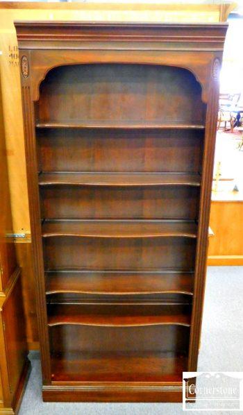 5969-8 - Ethan Allen Solid Cherry Open Bookcase