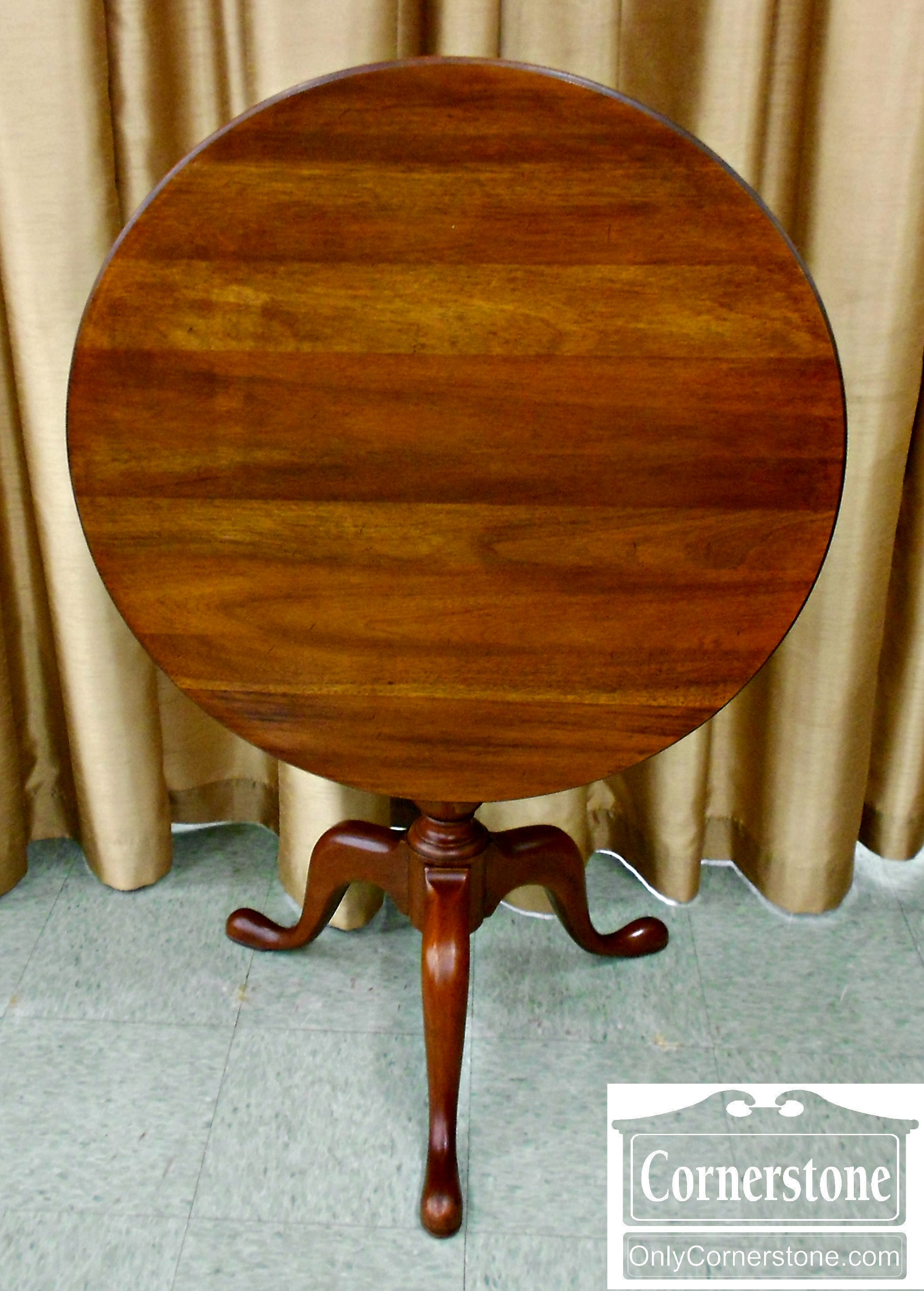 5988-4 Mahogany Tilt Top Table-2