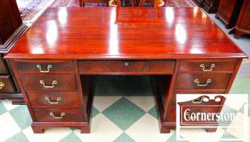 6046-3 Mahogany Executive Desk