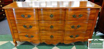6051-31 John Widdicomb French Style Solid Cherry Dresser