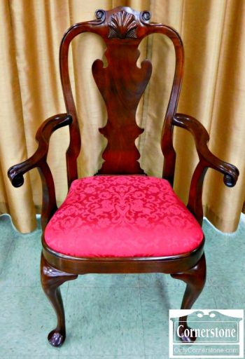 6078-1 Stickley Solid Cherry Queen Anne Dining Chairs
