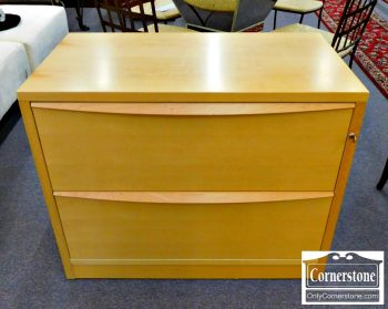 6078-4 - Maple Finish Contemporary Lateral File