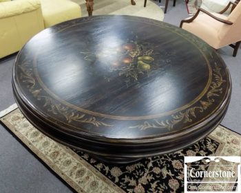 6110-10 - Round Painted Dining Table