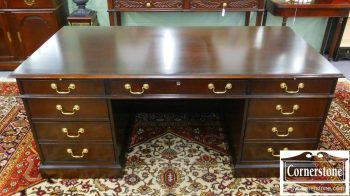 6164-1 Councill Craftsmen Mahogany Executive Desk