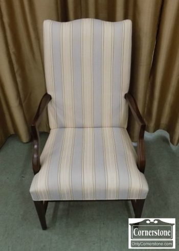 6189-10 - Mahogany Finish Hepplewhite Martha Washington Arm Chair