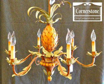 6319-3 Metal Pineapple Chandelier