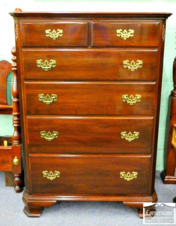 6320-115 - Ethan Allen Solid Cherry Tall Chest