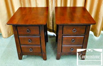 6320-123 Pair of American Signature End Tables