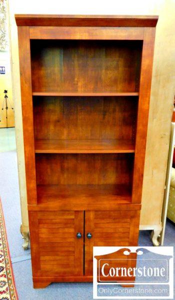 6320-124 Bookcase in Cherry Finish