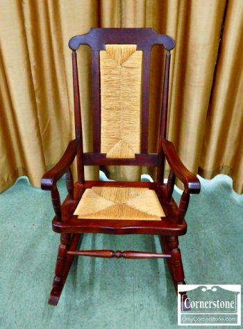 6320-141 - Rush Seat Rocking Chair