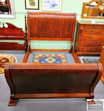 6320-176 - Mahogany Queen Sleigh Bed