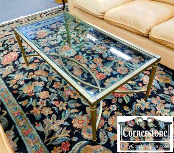 6320-183 - Glass Top Coffee Table