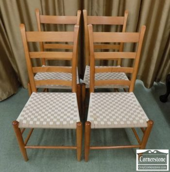 6320-247 - 4 Casual Maple Chairs
