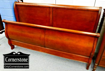 6320-248 Cherry King size Sleigh Bed