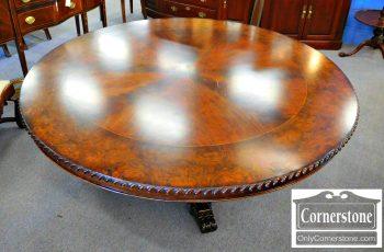 6320-257 - Mahogany Round Dining Table