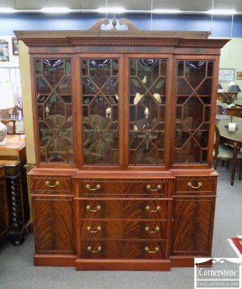 6320-258 - Mahogany China CabinetBookcase