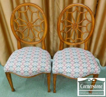 6320-266 Pair of Spiderback Chairs