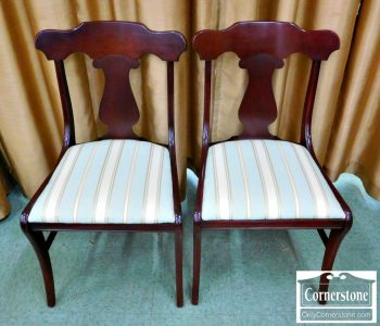 6320-272 - Pair of Cherry Brewster Chairs
