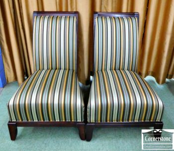 6320-295 - Pair of Schnadig Upholstered Chairs