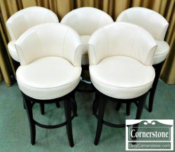 6320-297 Pier One set of 5 Bar stools