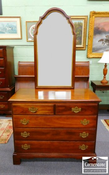 Statton Solid Cherry Dresser with Mirror