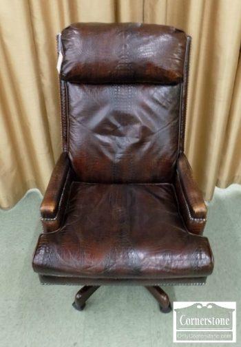6320-420 - Hancock & Moore Leather Executive Desk Chair