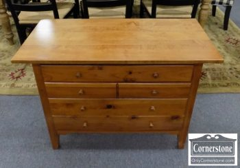 6320-428 - Pine Sewing StandChest