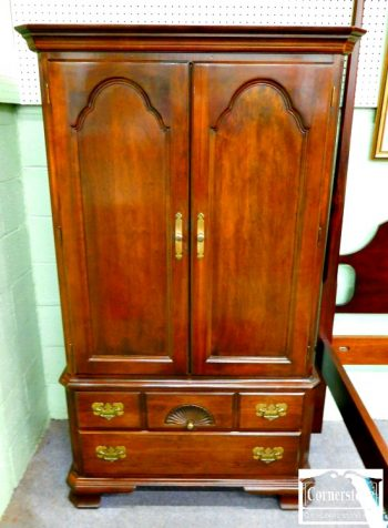 6320-43 - Solid Cherry Armoire