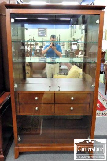 6320-462 Glass Curio