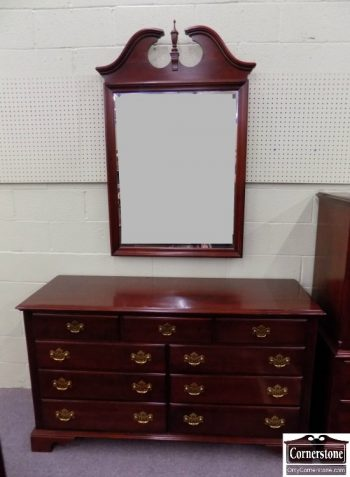 6320-491 - Knob Creek Cherry Dresser with Mirror