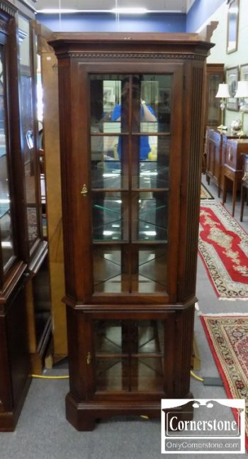 6320-512 - Solid Cherry Narrow Corner Cabinet