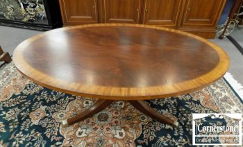 6320-597 - Ethan Allen Mahogany Coffee Table