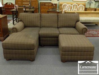 6320-604 - Huntington House Sofa with Chaise and Ottoman