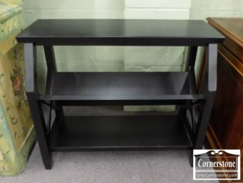 6320-669 - Pottery Barn Small Black Bookshelf