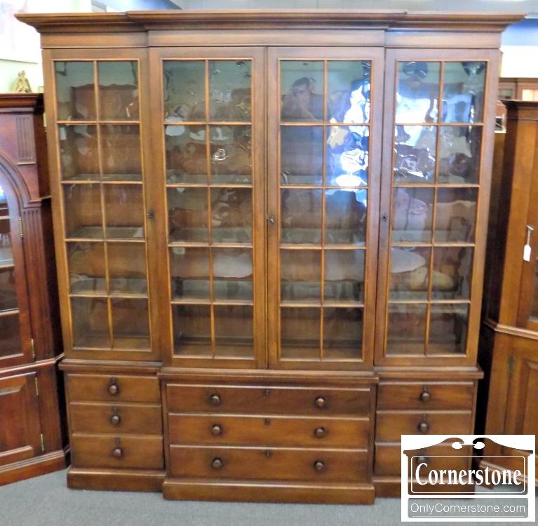 Exceptional Henredon Mahogany Breakfront | Baltimore, Maryland Furniture Store U2013  Cornerstone