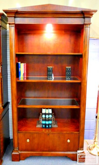 6320-70 - Hekman Mahogany Bookcase with 1 Drawer